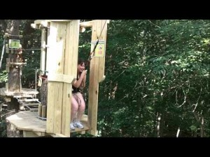 Go Ape Treetop Adventure Course at Eagle Creek Park