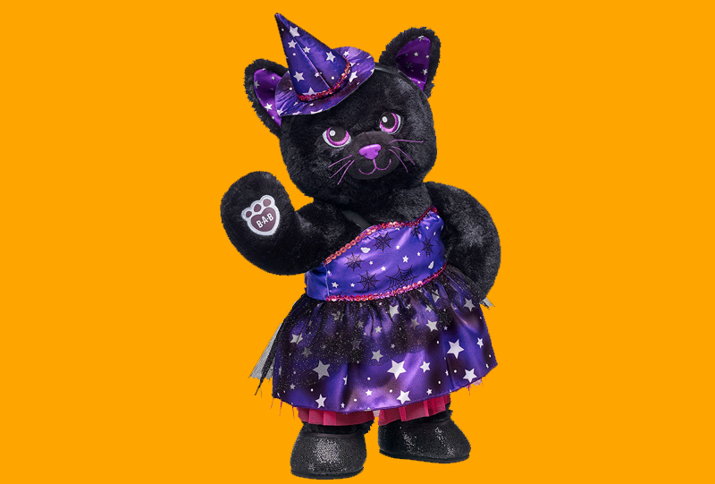 Build A Bear Night Sky Kitty 2016 Halloween Roundup