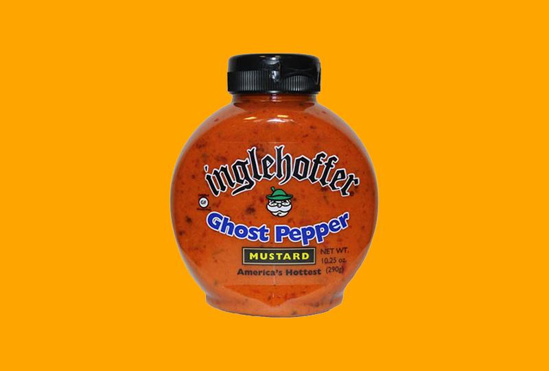 Inglehoffer Ghost Pepper Mustard 2016 Halloween Roundup