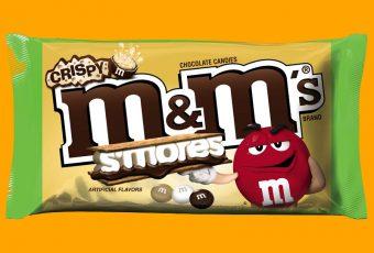 M&M'S Crispy S'mores