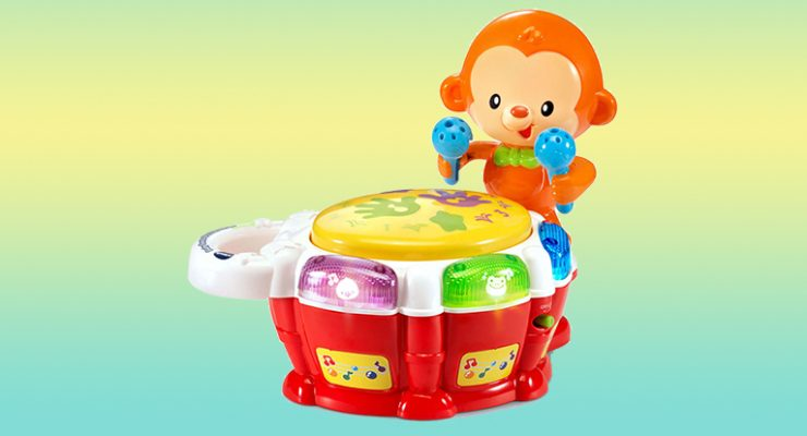 fc89065b030 Suggested retail   12.99 Age recommendation  3-24 months Availability date   Now Description  As little ones tap on the drum