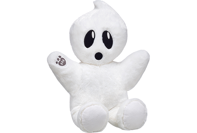 Build-A-Bear: Online Exclusive Boo-rific Ghost Bear - 2017 Halloween ...