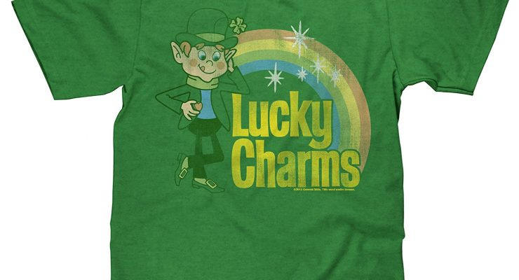 Lucky Charms Cereal Vintage T-shirt
