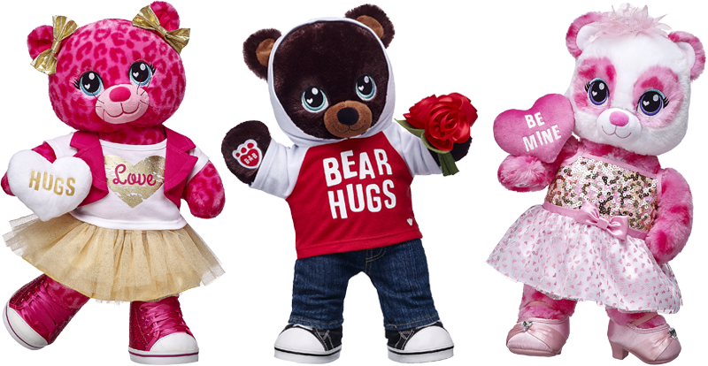 2017 Build-A-Bear Valentine's Day Collection