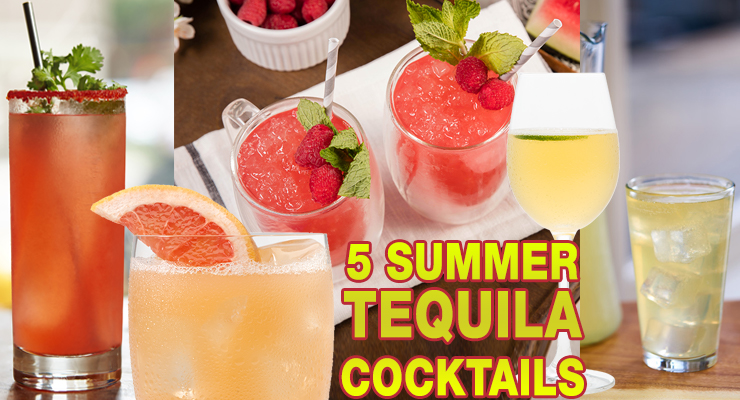 5 Tequila Cocktails For Summer!